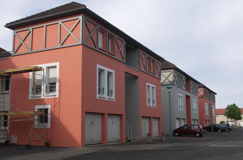 Polychromie de 5 résidences à Woippy