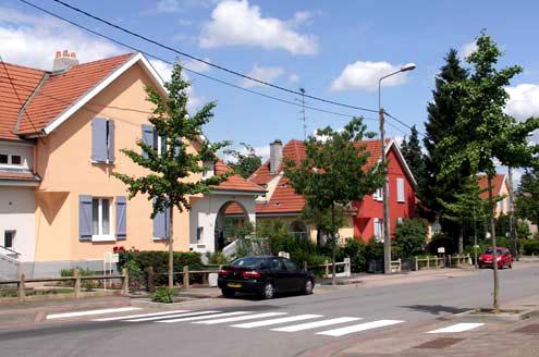 Étude urbaine et polychromie de la Cité-jardin de Hagondange