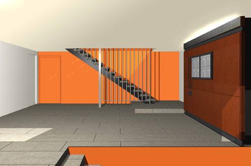 Sécurisation et rénovation de 55 entrées d'immeubles collectifs à Metz-Borny