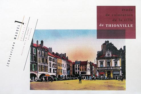 Étude du développement urbain et  coloration globale de la ville de Thionville