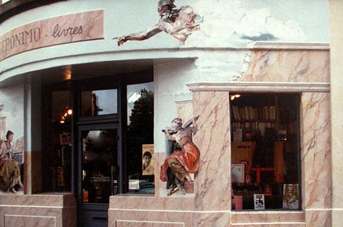 Façade de la librairie GÉRONIMO à Metz